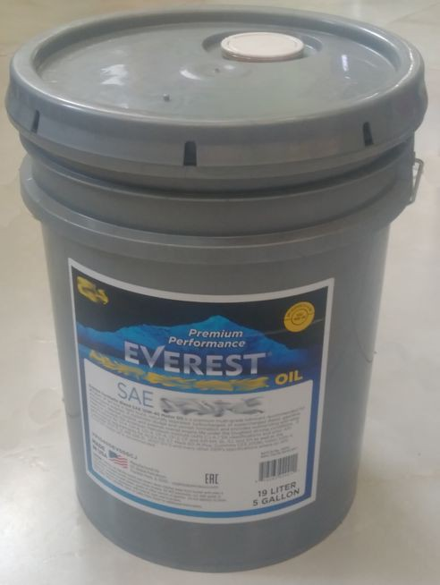 Everest Масло моторное Heavy Duty 10W40 (CJ-4 E7, E9) (synt.) (19л)